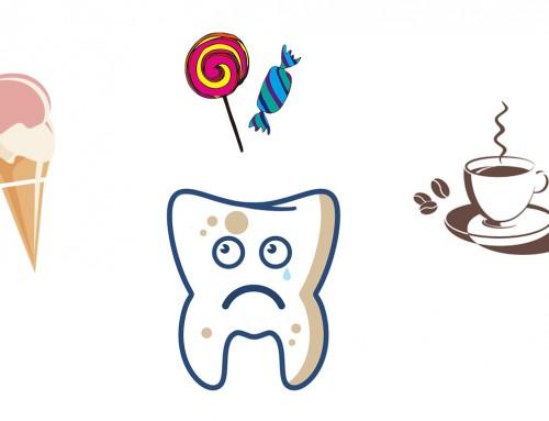Isninger i tænderne